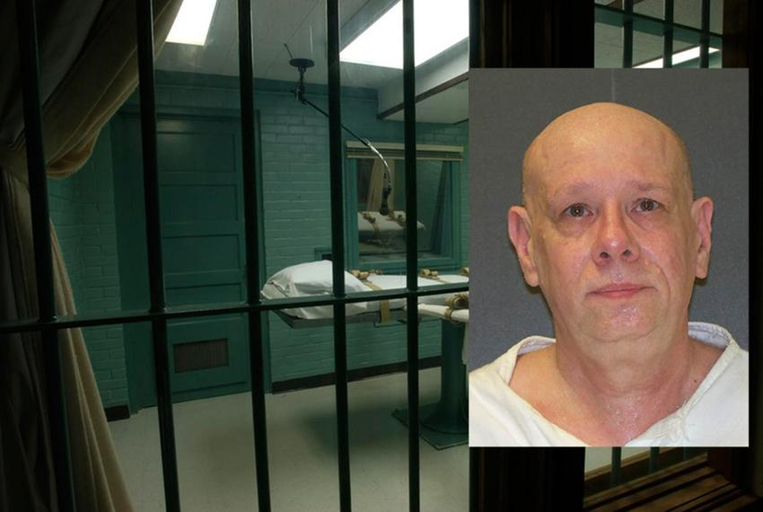 Death row inmate James Bigby, sentenced to death for the 1987 murders of Michael Trekell and Trekell's 4-month-old son, Jays…