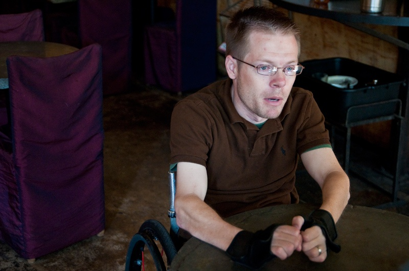 Chase Bearden hopes to convince lawmakers that he, and other's needing physical therapy, should be allowed to go to a physical therapist without getting a doctor's referral first.