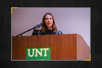 Caitlin Sewell, former assistant general counsel for the University of North Texas System.