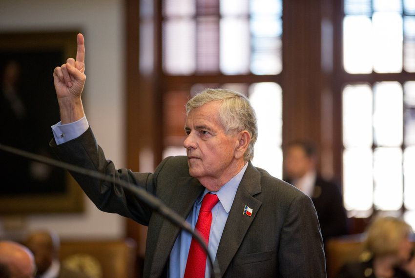 State Rep. and former House Speaker Tom Craddick, pictured above on the House floor on March 25, 2015, was elected to his 50th consecutive year in office.