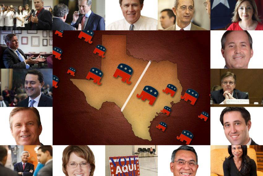A crowded slate might make it tough for GOP candidates for statewide office to stand out.