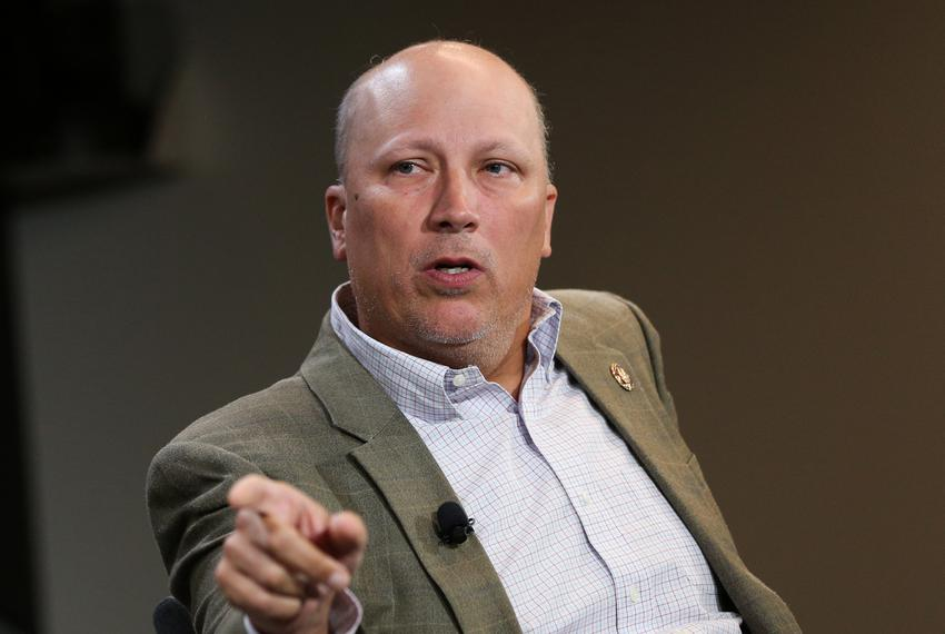 U.S. Rep. Chip Roy, R-Austin, speaks at a Tribune event on Sept. 3, 2019.