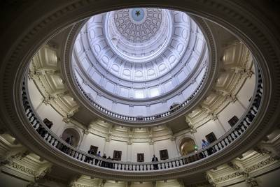 The rotunda at the state Capitol. At most there are 139 days left until the Legislature adjourns sine die.