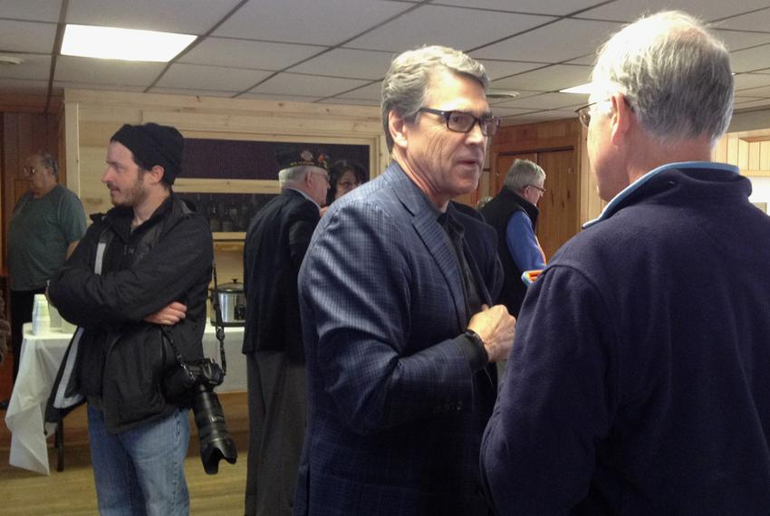 Gov. Rick Perry in Lancaster, N.H.