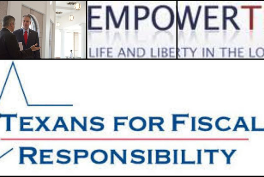 Texans for Fiscal Responsibility and Empower Texans president Michael Quinn Sullivan.