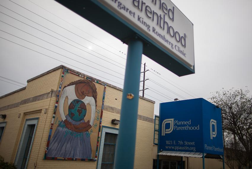 Planned Parenthood clinic on 7th St. in Austin, Texas.