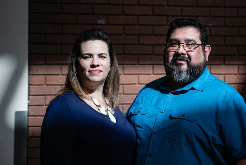 Liz and Jeremiah Peña are educators in Birdville ISD in Haltom City. They estimate they paid over $11,000 in health insurance premiums last year.