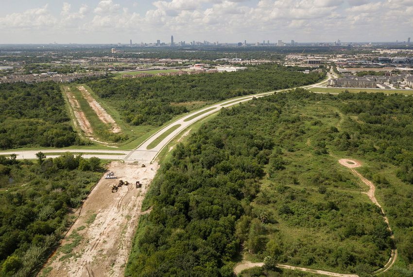 The University of Texas System owns 100 acres of land south of the Texas Medical Center in Houston.
