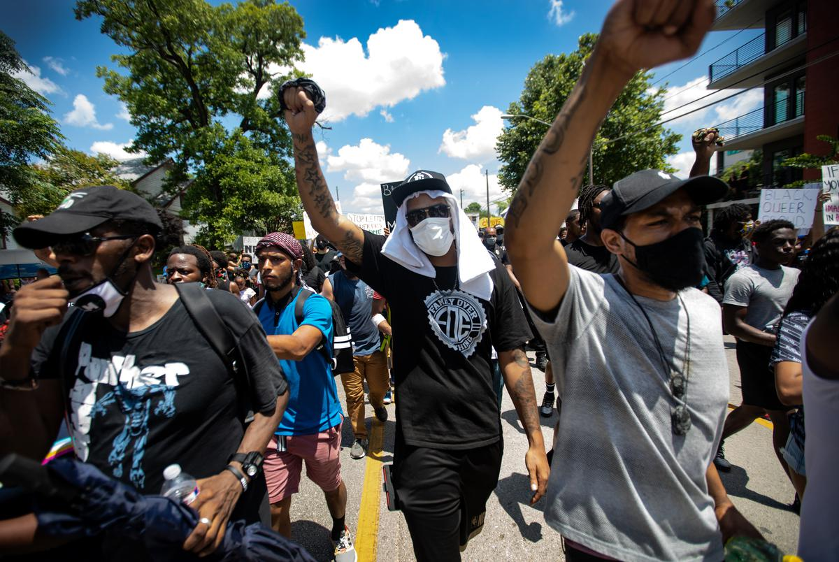 More than 5,000 people gathered for Black Austin Rally & March For Black Lives on June 7, 2020.