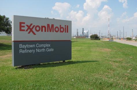 ExxonMobil refinery in Baytown, Texas.