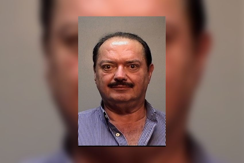 Mugshot of state Rep. René Oliveira, D-Brownsville. Oliveira was arrested Friday night, April 27, 2018, and charged with driving while intoxicated.