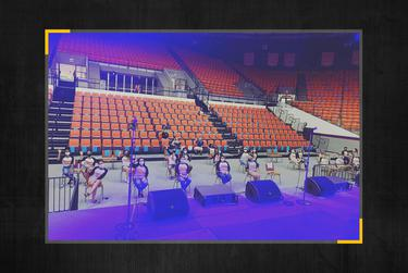 A Facebook post from the Sam Houston State University's Department of Student Activities was posted Aug. 17 with the caption 'Welcome Week Leaders are ready for @tiffanyhaddish at KAT COMEDY SHOWCASE! Doors open NOW!'