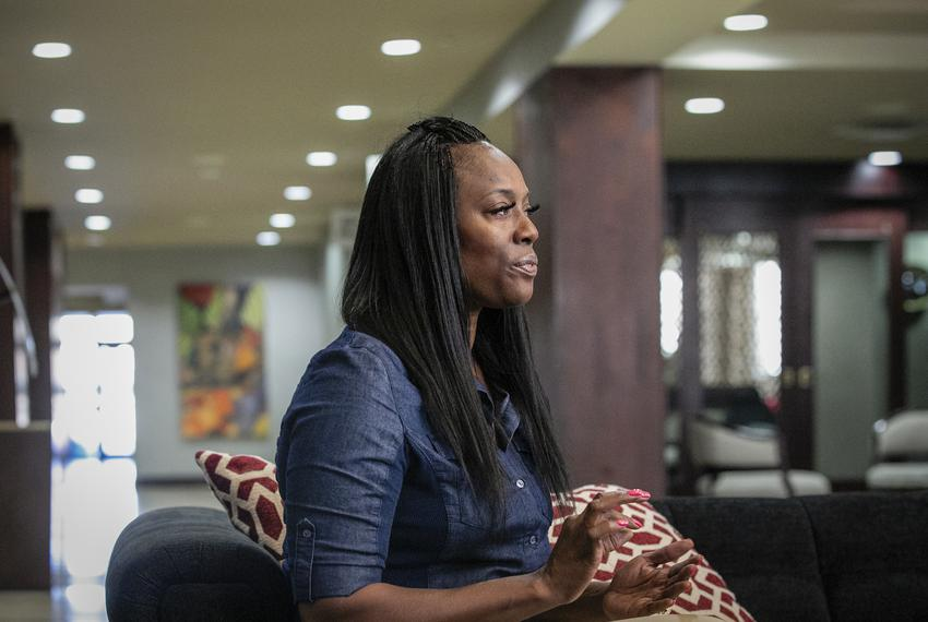 Crystal Mason spoke about being accused of voter fraud and her upcoming court case on Sept. 9 2019 in Fort Worth.