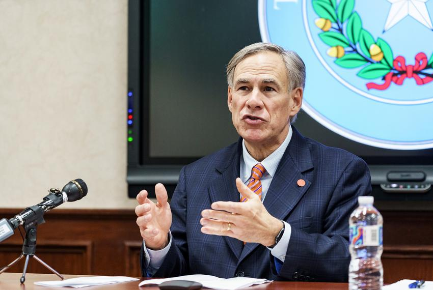 Texas Gov. Greg Abbott announces the activation of the Texas National Guard in response the COVID-19 pandemic. The announcem…