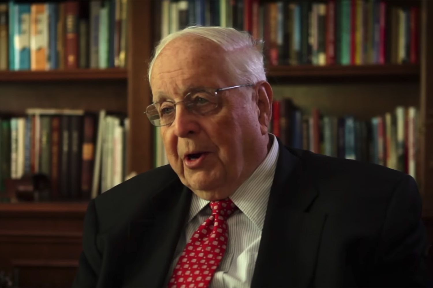 Paul Pressler, retiredjustice of the Texas 14th Circuit Court of Appeals.