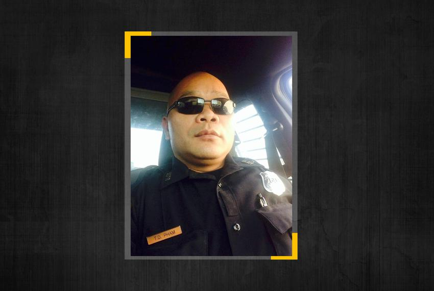 Houston police officer Tam Pham.