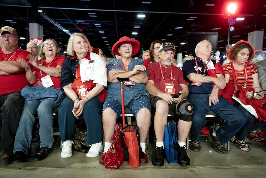 First day of the Texas Republican Convention at the Henry B. Gonzales Convention Center in San Antonio on June 14, 2018.  .