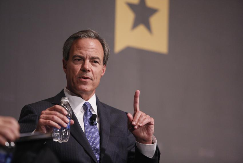 Texas House Speaker Joe Straus was interviewed by Texas Tribune CEO and Editor-in-Chief Evan Smith at The Texas Tribune Fe...