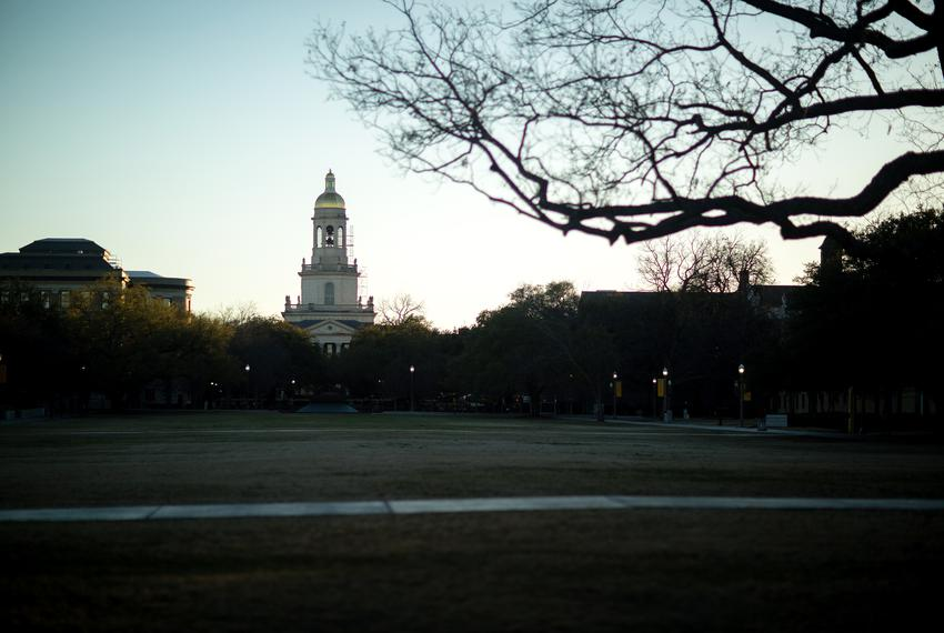 Baylor University on Wednesday, Feb. 15, 2017.
