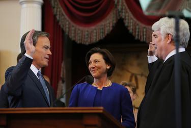 State Rep. Joe Straus, R-San Antonio, is sworn in as Texas Speaker of the House on January 13th, 2015