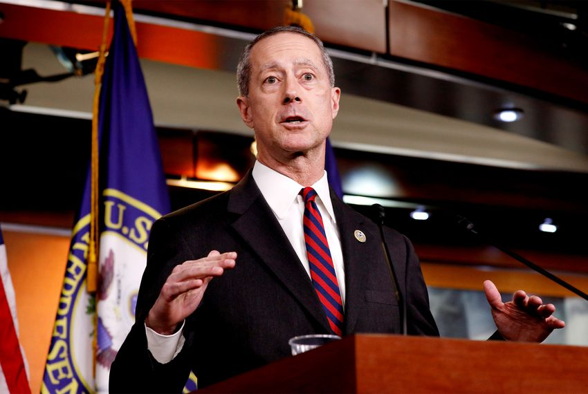U.S. Rep. Mac Thornberry, R-Clarendon, speaks at a news conference on Capitol Hill in Washington, D.C. on March 22, 2018.
