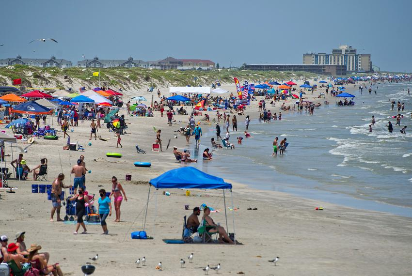 North Padre Island Beaches were closed to vehicular access from Friday, July 3 to Tuesday, July 7, 2020 to discourage crowds…