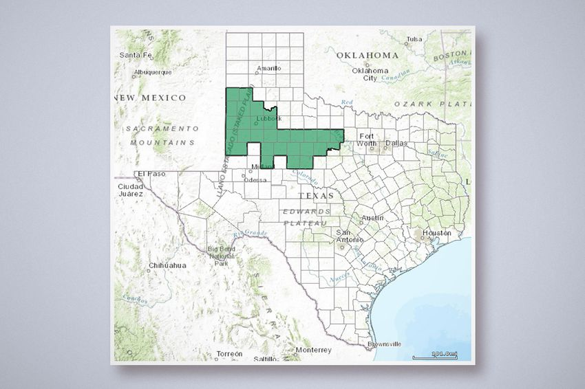 A Look At Texas Congressional District 19 Which U S Rep Randy Neugebauer Has