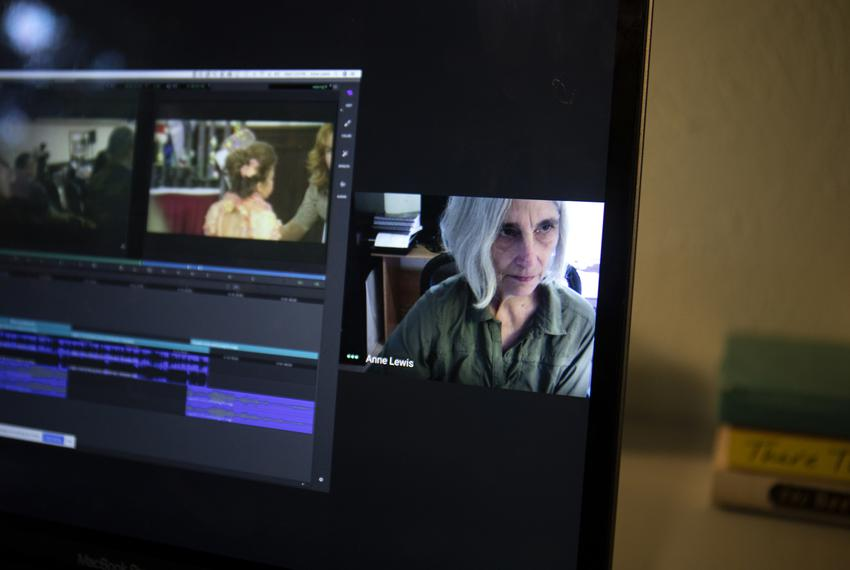 Univesity of Texas at Austin Lecturer, Anne Lewis, describes how she will remotely teach her video editing class during th...