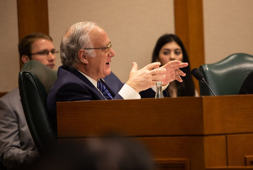 State Sen. Kirk Watson, D-Austin, has been backing open-government legislation for years.