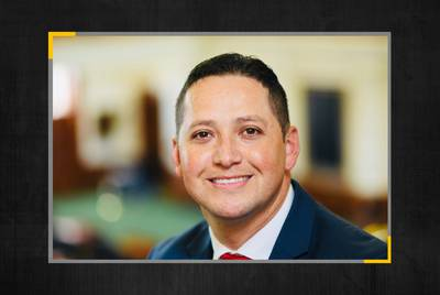 Former Navy officer Tony Gonzales is a Republican candidate for the 23rd Congressional District.