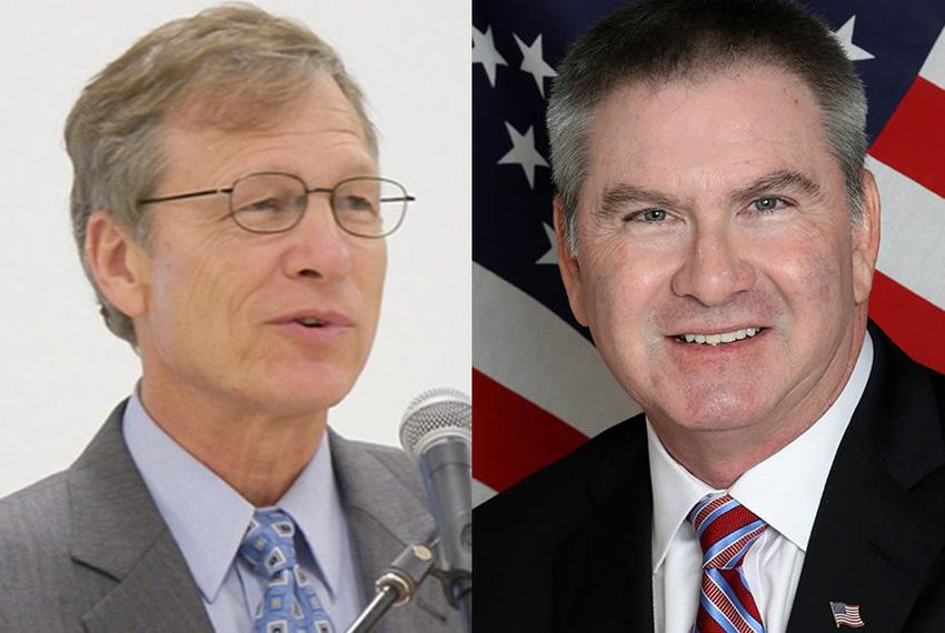 The race to replace U.S Rep. Steve Stockman in Congressional District 36 is a battle of geographical allegiance between su...