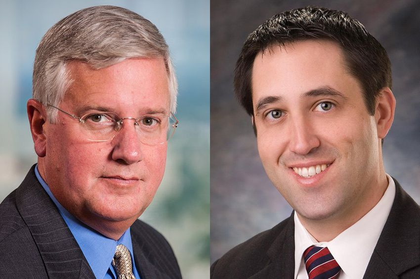 Comptroller candidates Democrat Mike Collier and Republican Glenn Hegar