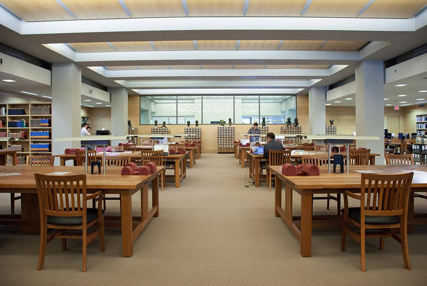 The Humanities Library at The Harry Ransom Center at The University of Texas in Austin, is open to anyone for research, prov…