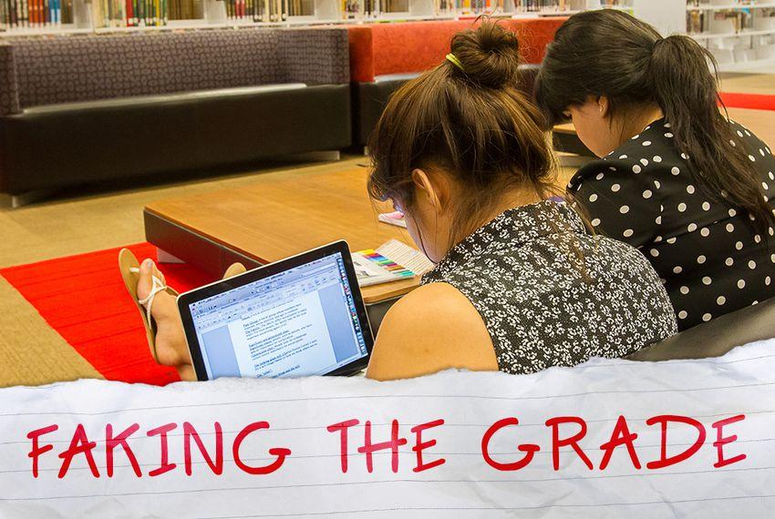 Faking Grade >> Faking The Grade The Texas Tribune
