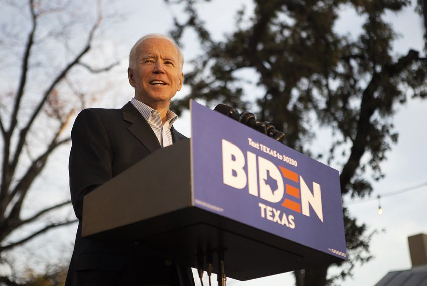 Democratic presidential candidate Joe Biden's campaign has unveiled 10 new Texas endorsements, including eight from people who had been with Julián Castro.