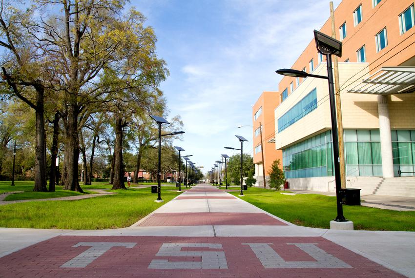 Texas Southern University in Houston.