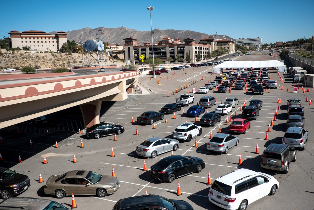 El Paso reports more than 3,000 new COVID-19 cases in a single day, shattering previous record