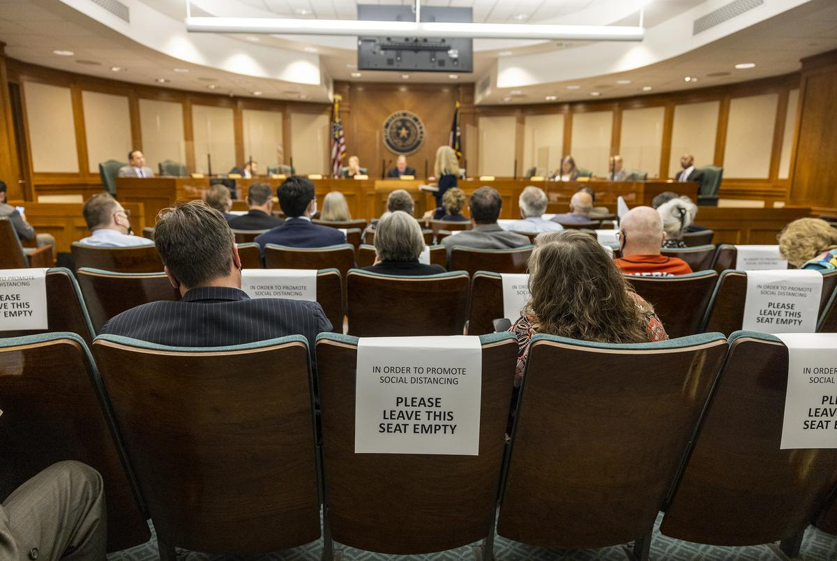 The House Elections Committee met to hear public testimony on a number of proposed election reform bills related to election integrity on April 8, 2021.