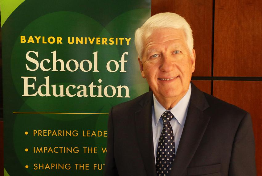 John E. Wilson is the program director for Baylor University's Doctor of Education in K–12 Educational Leadership.