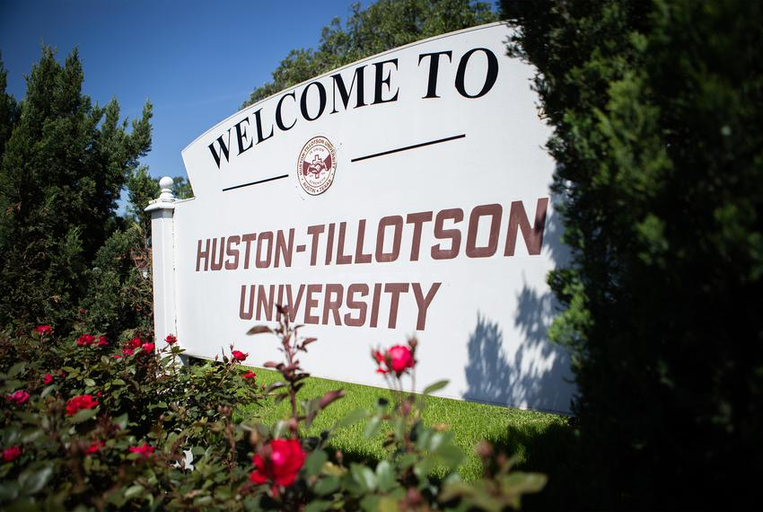 Huston-Tillotson University on April 16, 2020.
