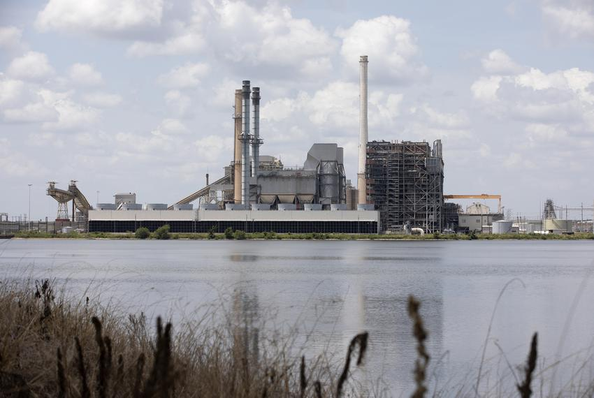 The Alcoa power plant near Rockdale on August 1, 2019.
