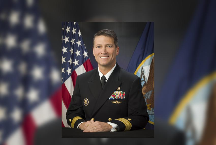 Ronny Jackson is a rear admiral in the Navy and a longtime White House physician.