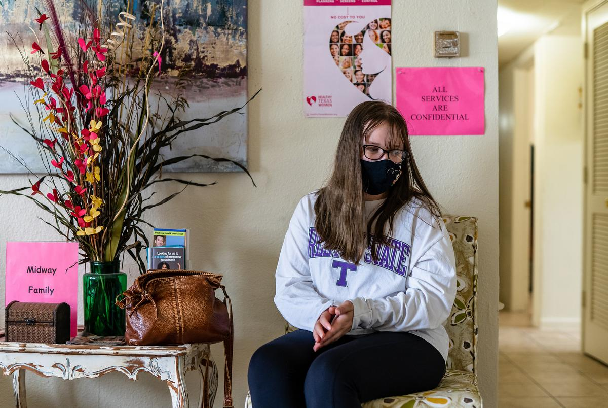 Bethany Wigham, a 20 year student from Tarleton State University drove 60 miles from Stephenville, TX  to visit the Midway Family Planning clinic in Brownwood, TX.