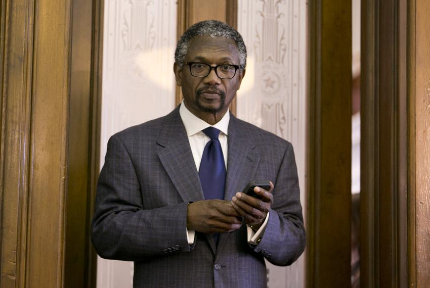 State Rep. Harold Dutton, D-Houston, is shown in the Speaker's Committee Room on May 17, 2013.