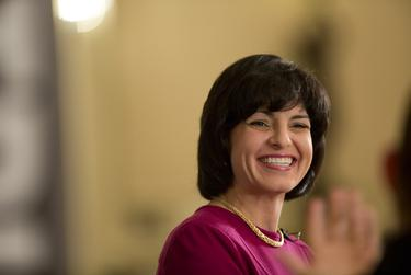 Railroad Commission Chairman Christi Craddick, a Republican first elected to the commission in 2012, is running for a second, six-year term.