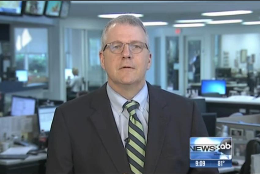 "Texas Tribune Executive Editor Ross Ramsey on WFAA-TV's ""Inside Texas Politics"" on June 15, 2014."