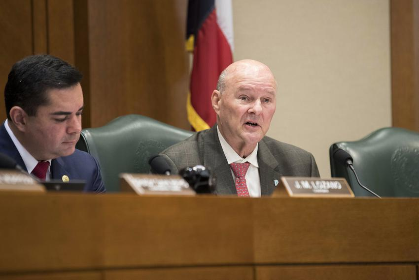 State Rep. John Raney, R-College Station, at a House Higher Education Committee hearing on March 22, 2017.