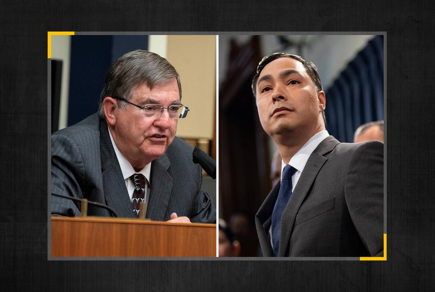 U.S. Rep. Michael Burgess, R-Lewisville, left, and U.S. Rep. Joaquin Castro, D-San Antonio.