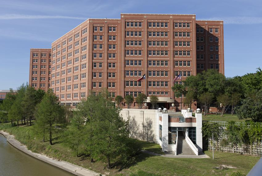 The Harris County Jail in Houston on  Wednesday, April 1, 2020.