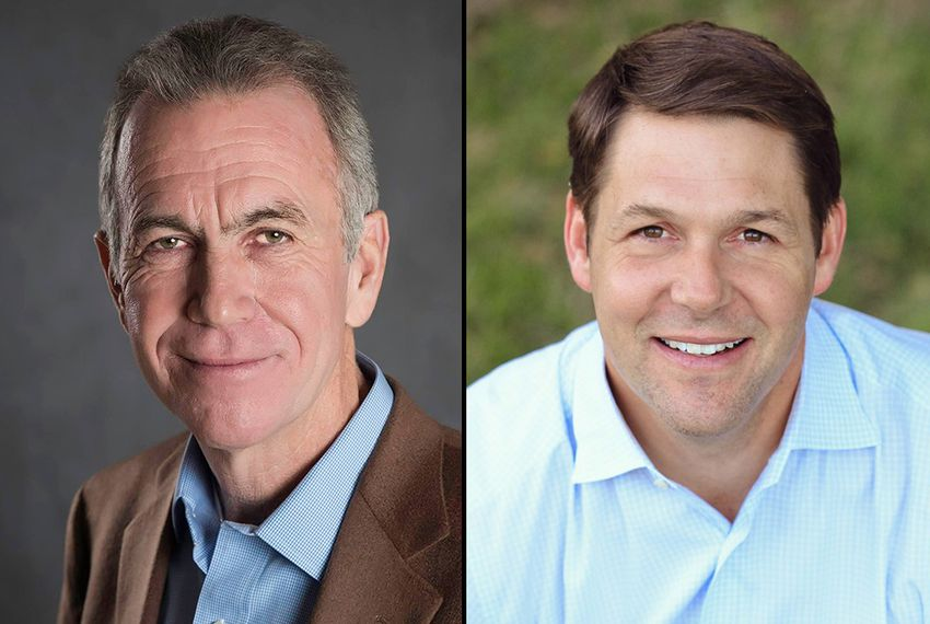 Lubbock Mayor Glen Robertson and former Texas Tech administrator Jodey Arrington.